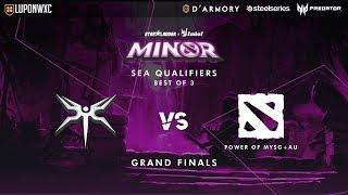 Mineski vs Team MYSG+AU Game 2 (BO3) StarLadder ImbaTV Minor SEA Qualifiers Grand Finals