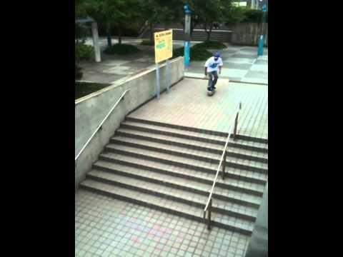 Marcus Mcbride 360 Flip #Japan