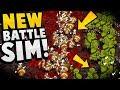 50000 UNITS IN BATTLE?! NEW Battle Simulator Game! - Hyper Knights Battles Gameplay MP3