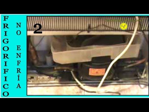 nevera. frigorifico o refrigerador con problemas. que congela pero no refrigera ( 2 de 2 )