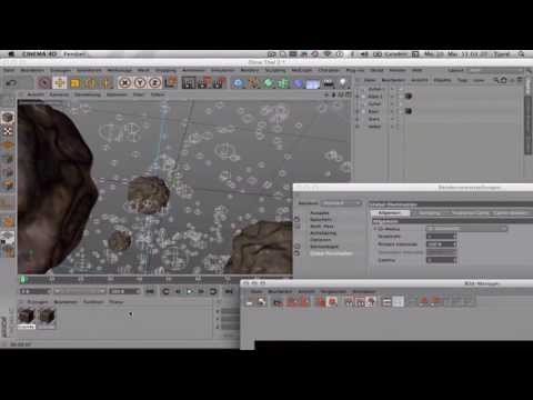Speedart 02: Cinema 4D galaxy | Cinema 4D Galaxie