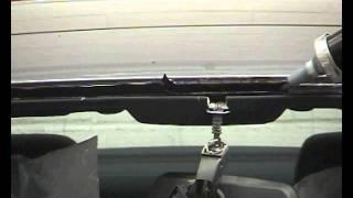 Cambiar el parabrisas de un coche