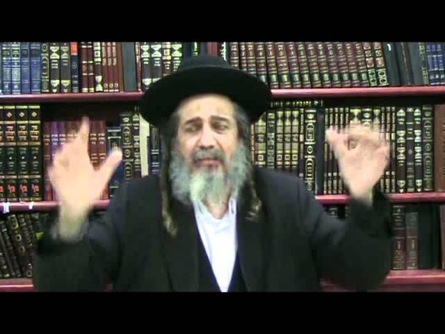 הרב שלמה מאיר פרשת יתרו וימי השובבים 05/02/2012