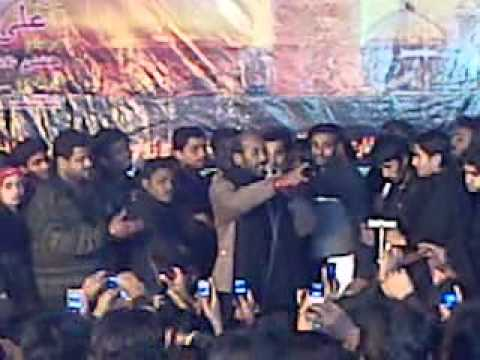 Mukhtiar Ali Shedi Qaseda 19th Saffer 2011 At Hyderabad video