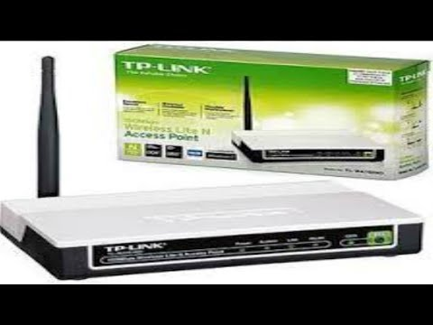 ✫CONFIGURACION DE UN ACCES POINT TP-LINK [ 2014]: