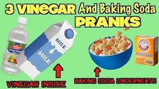 3 Funny Vinegar and Baking Soda Pranks You Can Set Up On Friends and Family- HOW TO PRANK| Nextraker
