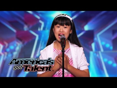 Grace Ann Gregorio: 11-Year-Old Opera Singer Hits the High Notes - America's Got Talent 2014 klip izle