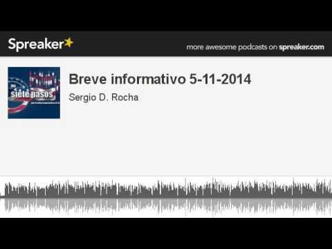 Breve informativo 5-11-2014 (hecho con Spreaker)