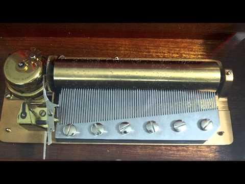 Vintage Reuge Music Box 72  Key Hungarian Rhapsody Edition