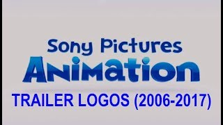 Sony Pictures Animation Trailer Logos (2006-2017)