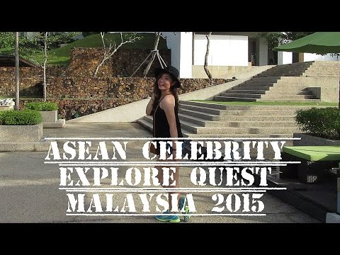 Travel Vlog: Anna Goes To ASEAN Celebrity Explore Quest Malaysia 2015