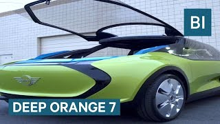 This BMW MINI Car Concept Can Show Off Your Hobbies