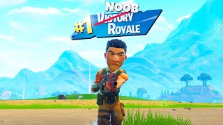 So Gewinnen Noobs in Fortnite...