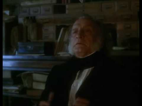 Christmas Carol 1984 - Scrooge Explains Clothing...