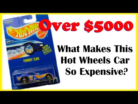 Why is this Hot Wheels car worth $3500? Hot Wheels Collector Number 271