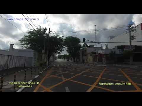 Mudanças no trânsito: Rua Geminiano Costa e Rua Castro Alves