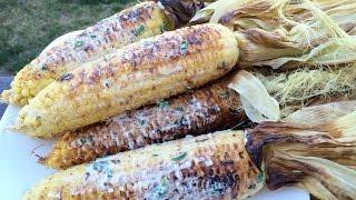 HOW TO: Cambodian Grilled Corn with Coconut Sauce | វិធីធ្វើម្ហូប-ពោតអាំងខ្ទិះដូង
