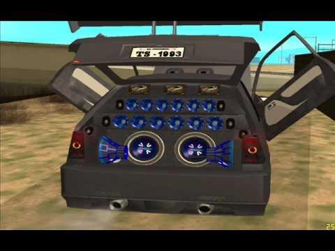 Varios carros de som GTA San Andreas