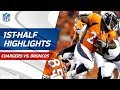 Chargers vs. Broncos First-Half Highlights | NFL Week 1 MP3