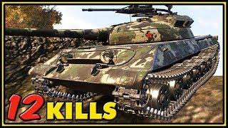 Object 430U - 12 Kills - World of Tanks Gameplay