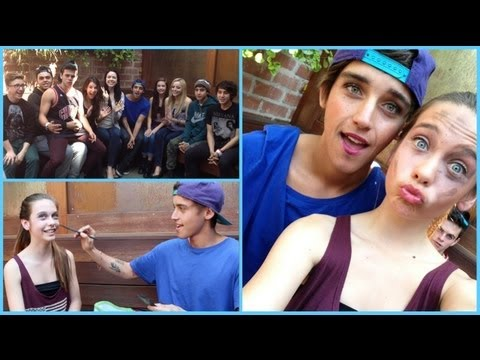 5 Minute Makeup Challenge w/ the JANOSKIANS!