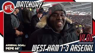 West Ham 1-3 Arsenal | Matchday VLOG