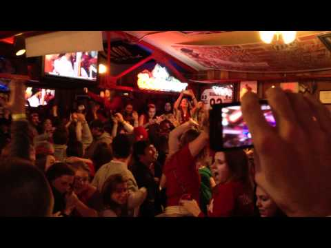 IU Upsets KY - Celebration at Nick's English Hut