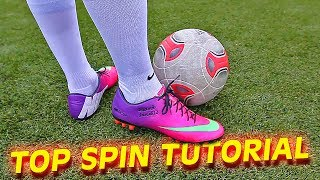 How to shoot a Top Spin Dip Free Kick like Bale & Ronaldo by freekickerz