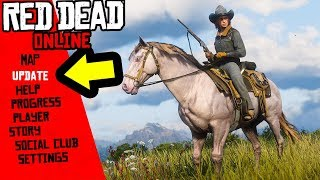 BEST Horse in Red Dead Online! NEW Red Dead Online Update!