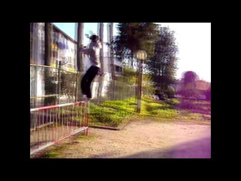 Parkour - Santiago do Cac�m - 2 months progress