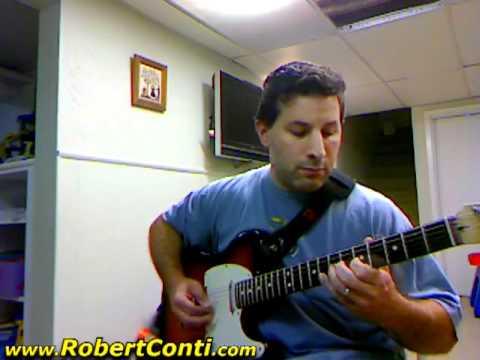 Conti Student, Dave Ruggiero - Satin Doll Jazz Guitar