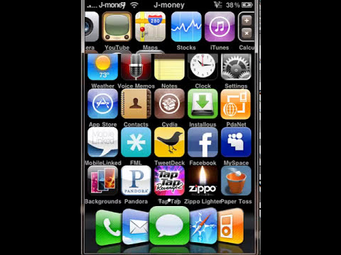 How to use cydia on your iphone 2g, 3g, 3gs and ipod touch MUST BE JAILBROKEN