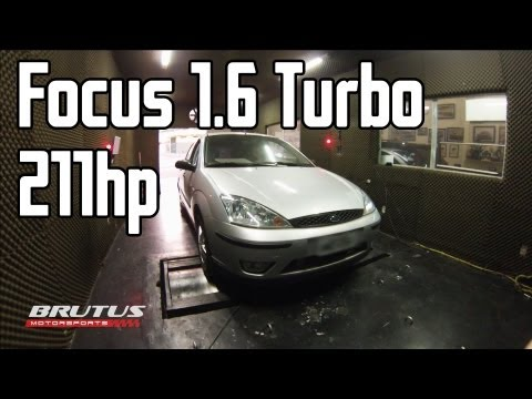 Ford Focus 1.6 Turbo Zetec Rocam Flex @ Dyno 211HP