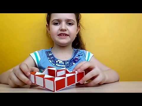 Кубик рубик змейка . Сердечко |Супер Детки