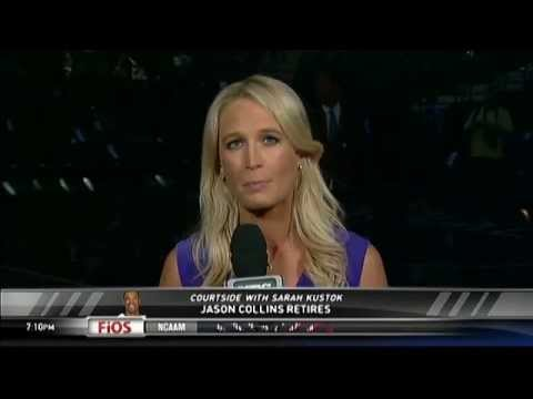 Courtside with Sarah Kustok - Jason Collins' retirement