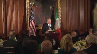 President Trump Participates in and Makes Remarks at the Friends of Ireland Luncheon