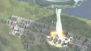 Massive Sim City Destruction!