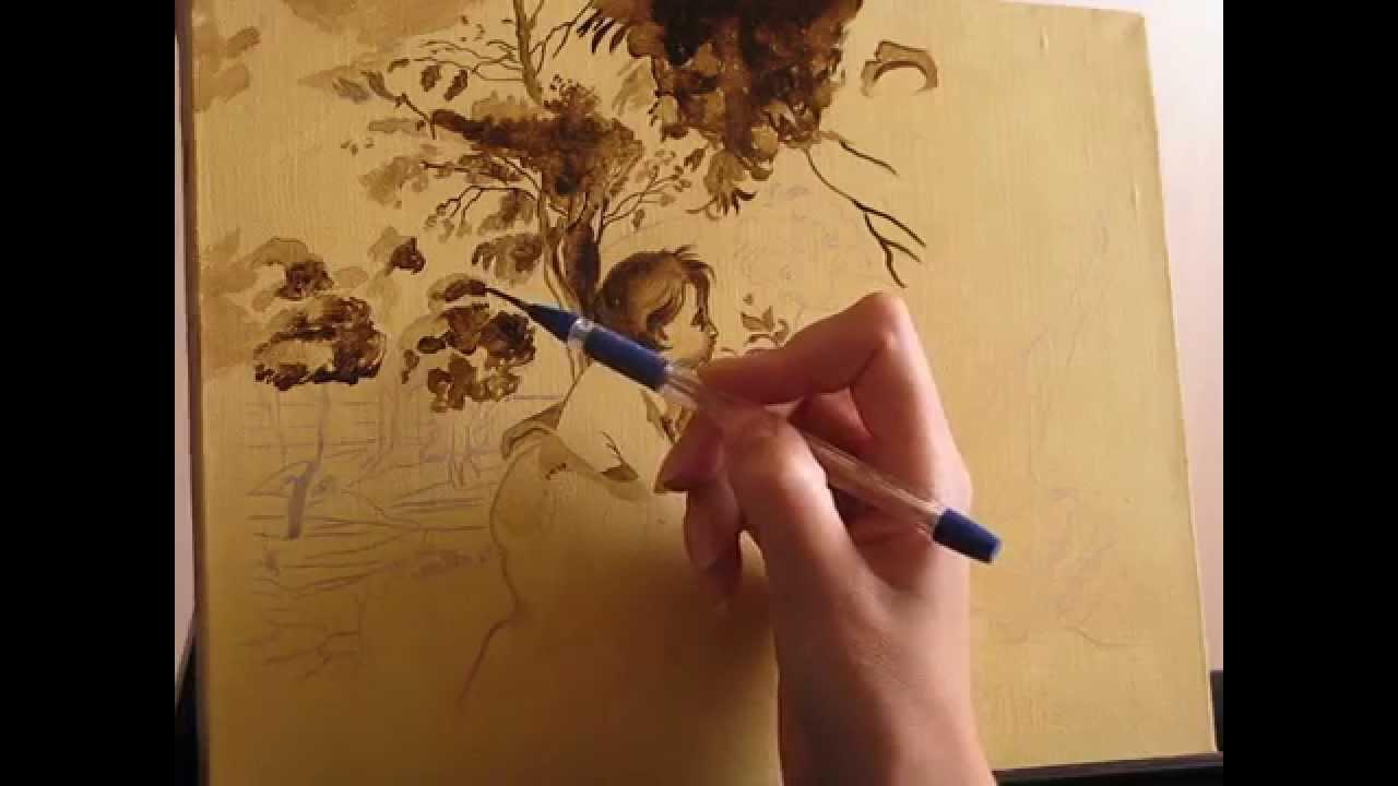 технология живописи маслом: