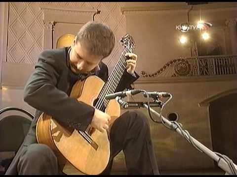 'Virtuosos of Guitar 2008' festival, Moscow. Goran Krivokapić