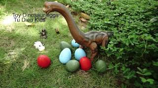 Dinosaur Eggs Toy .Trứng khủng long đồ chơi. Đồ chơi cho trẻ em. Mở trứng khủng long đồ chơi.