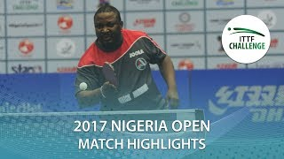 2017 Nigeria Open Highlights: Monday Merotohun vs Ogini Olasunkanmi (Qual)