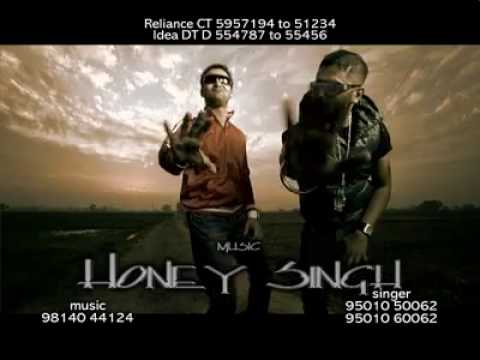 Honey Singh rap in Chaska album-  The Crown  Raja Baath