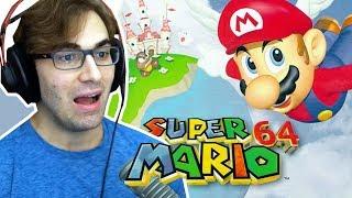 SUPER MARIO 64 - O Início de Gameplay Deste Jogo Incrível da Nintendo!