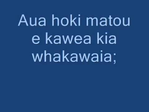 The Lords Prayer sung in Maori