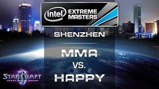 Happy vs. MMA - IEM Shenzhen 2014 - Semifinal EU Qualifier - StarCraft 2