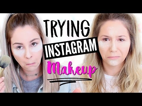 Full Face Trying Instagram Makeup - FAIL?!