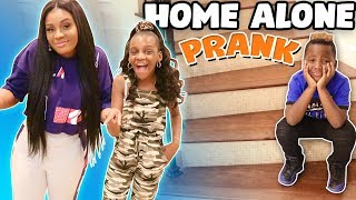 DJ Left Home Alone Prank In Our New House