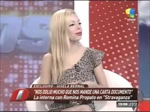 Gisela Bernal defiende a Flavio Mendoza