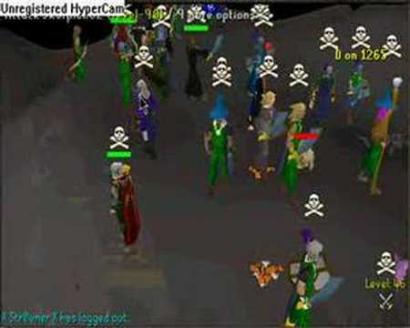 RuneScape Battle Of World- 95