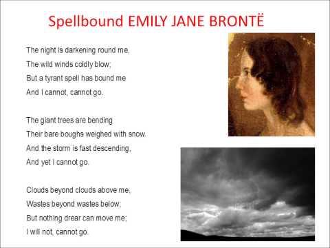 Spellbound - Poem by Emily Jane Brontë